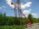 Využití autoplošiny v oblasti energetických staveb. Montáží plošiny Brno Velčovksý