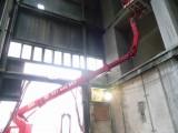 při vmanipulování se přes překážky využíváme druhé rameno naší montážní plošiny.